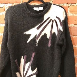 Sweaters - Vintage 80's Grandma Sweater- Sparkle and beads
